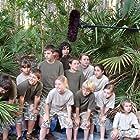 "The ""Adventure Scouts"" are looking for the Big Bad Bikers...in preparing to shoot their next scene. L to R...Kyle Kelshaw, Lauren Mazzone, JJ Fitzpatrick, John Reddy, EJ Ahanotu, Sam Reddy, Evan julian, Jadon Fitzpatrick, Lauren Millwee, Lance Esposito, Morgan Craven, Lauren Mazzone & Sydney McCallum"