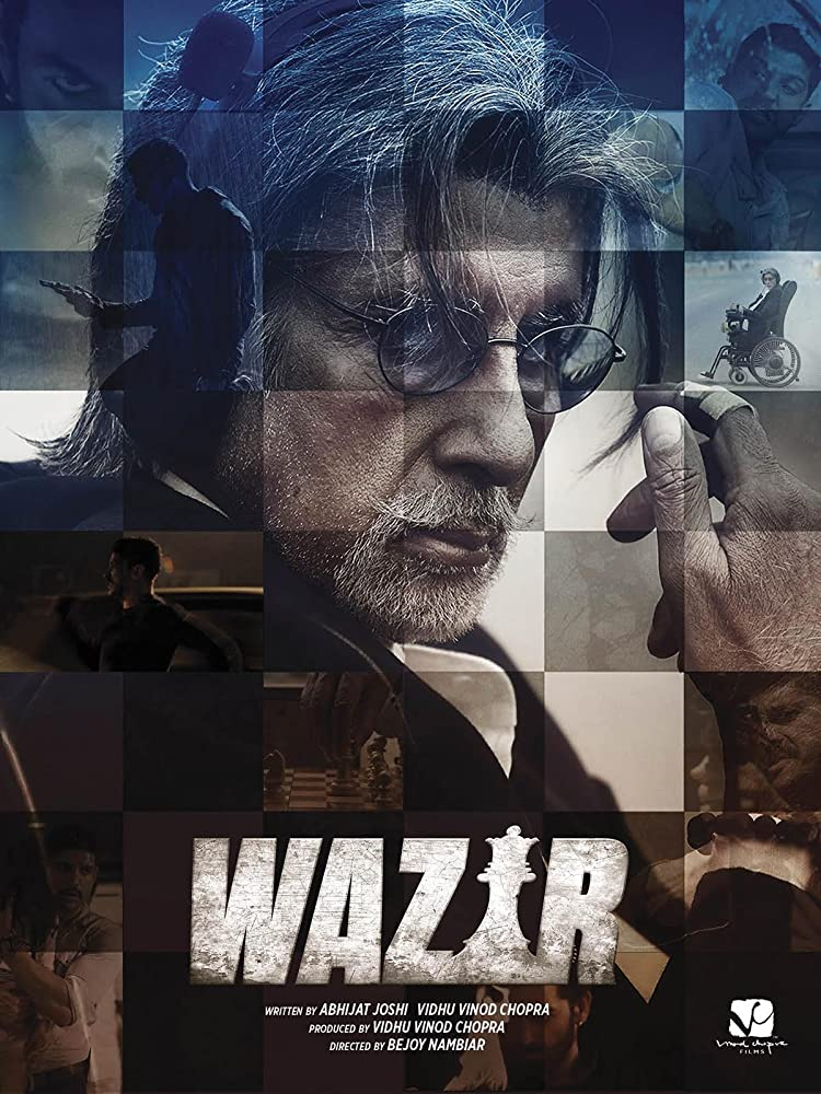 Amitabh Bachchan and Farhan Akhtar in Wazir (2016)