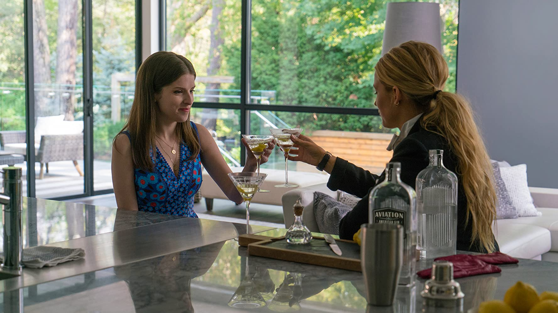 Anna Kendrick and Blake Lively in A Simple Favor (2018)