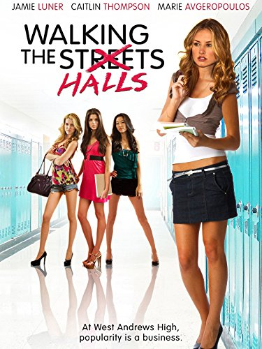 Lindsay Taylor, Caitlin Thompson, Marie Avgeropoulos, and Arden Cho in Walking the Halls (2012)