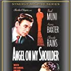 Anne Baxter, Claude Rains, and Paul Muni in Angel on My Shoulder (1946)