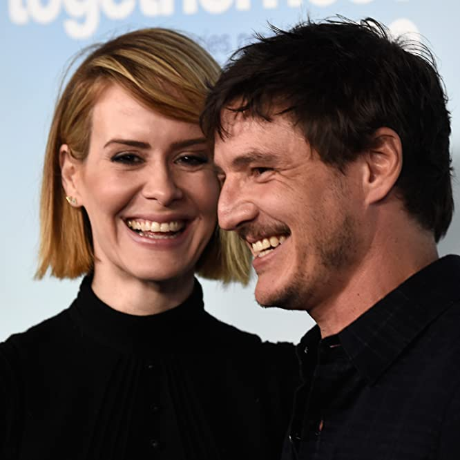 Sarah Paulson and Pedro Pascal at an event for Togetherness (2015)