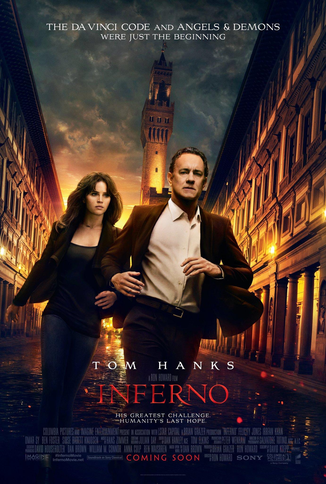 Inferno (2016) BluRay 480p, 720p, 1080p & 4K-2160p