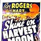 Roy Rogers, Stanley Andrews, and Lynne Roberts in Shine on Harvest Moon (1938)