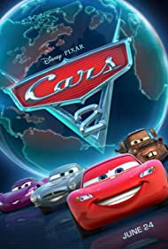 Michael Caine, Owen Wilson, Emily Mortimer, and Larry the Cable Guy in Cars 2 (2011)