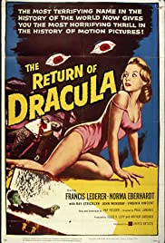 The Return of Dracula (1958) Poster - Movie Forum, Cast, Reviews