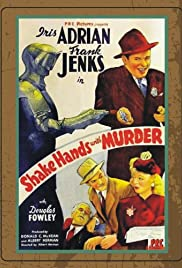 Shake Hands with Murder Poster