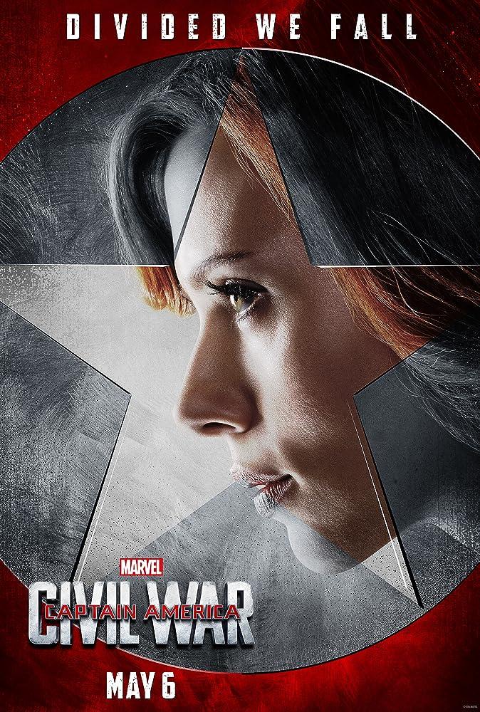 Scarlett Johansson in Captain America: Civil War (2016)