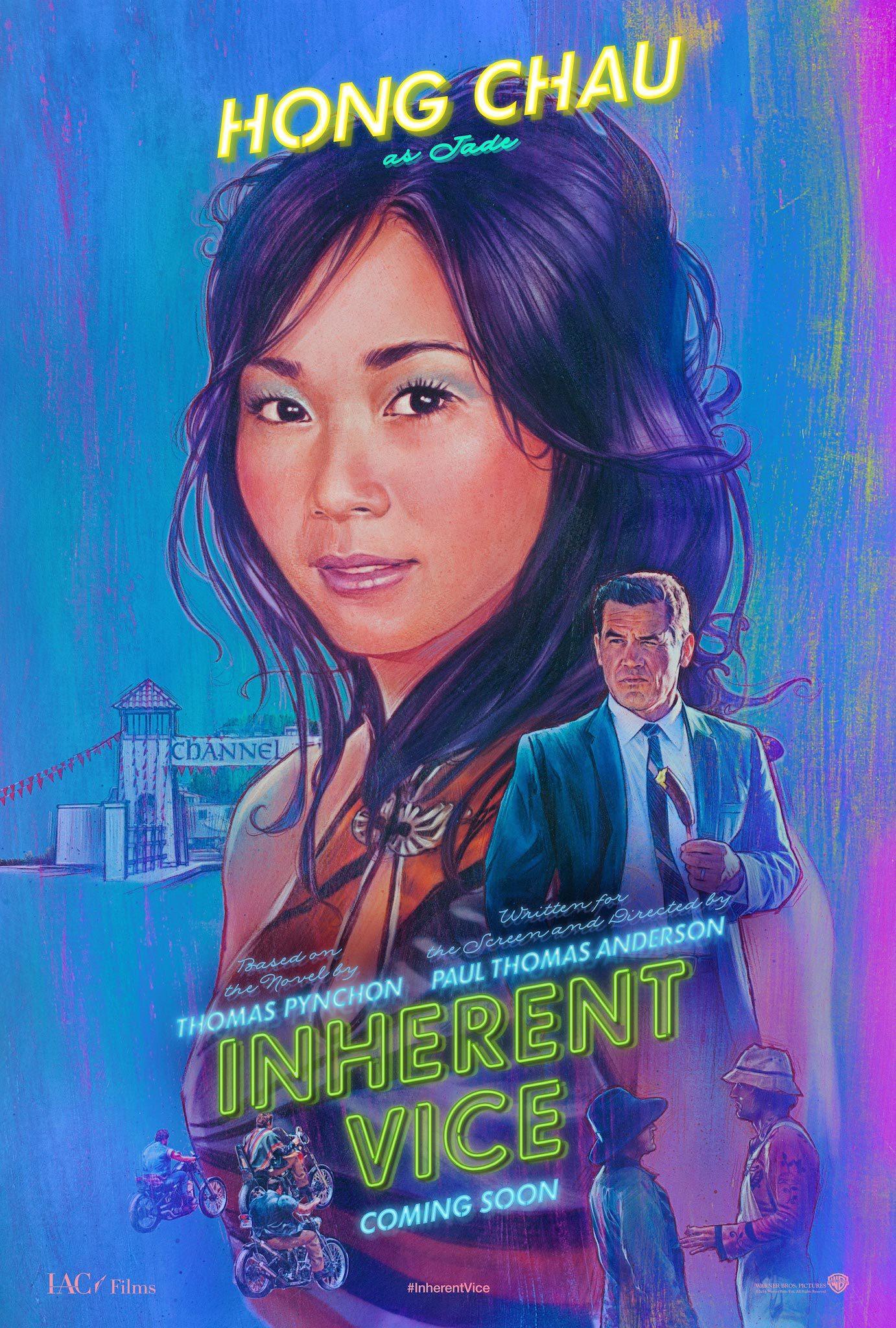 Josh Brolin and Hong Chau in Inherent Vice (2014)