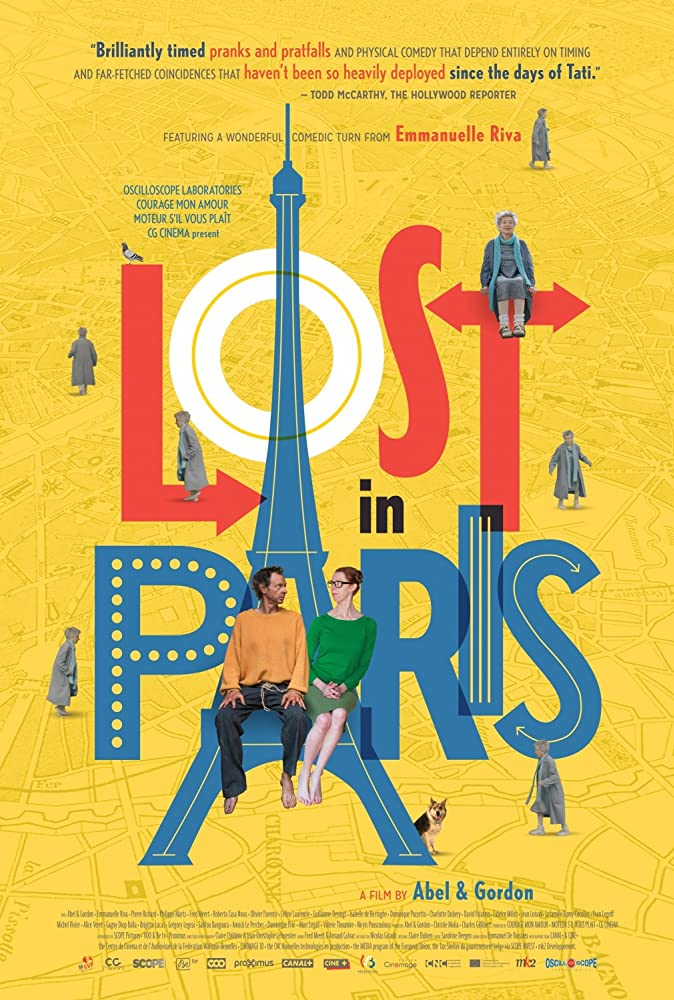 Dominique Abel, Fiona Gordon, and Emmanuelle Riva in Paris pieds nus (2016)