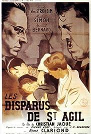 Les disparus de St. Agil Poster