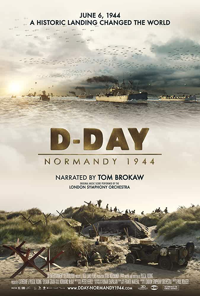D-Day: Normandy 1944 | 2014 | English | 1080p | 720p | BluRay