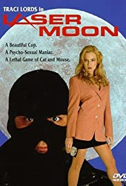 Laser Moon Poster