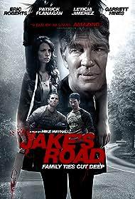 Eric Roberts, Patrick Flanagan, Garrett Hines, and Leticia Jimenez in Jake's Road (2017)