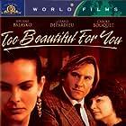 Gérard Depardieu, Carole Bouquet, and Josiane Balasko in Trop belle pour toi (1989)