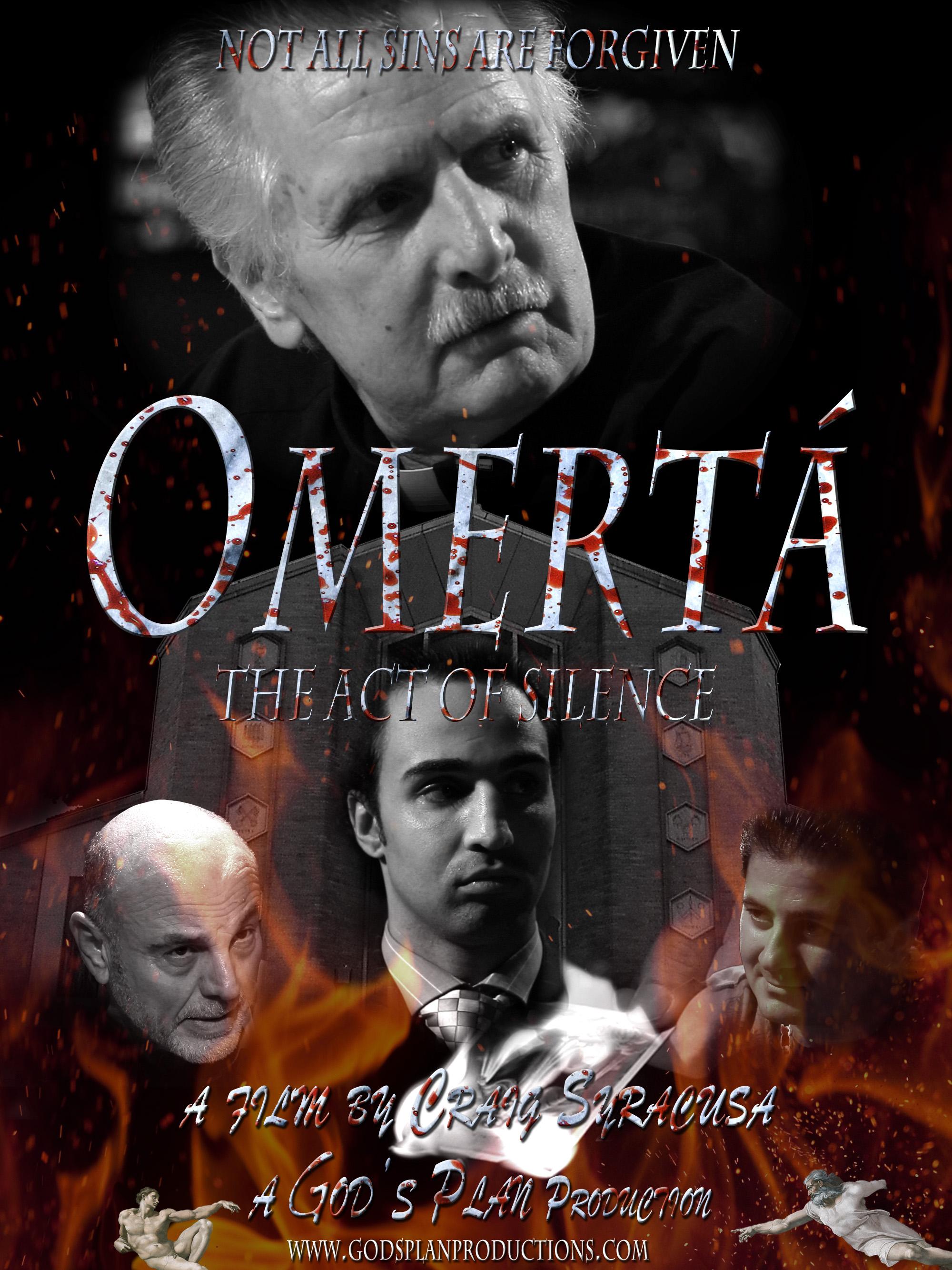 Joe Estevez and Paul Malignaggi in Omerta (2011)