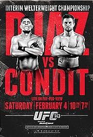 Diaz vs. Condit Poster