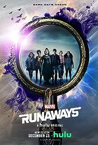 Gregg Sulkin, Ariela Barer, Lyrica Okano, Virginia Gardner, Allegra Acosta, and Rhenzy Feliz in Runaways (2017)