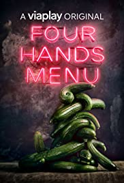 Four Hands Menu Poster