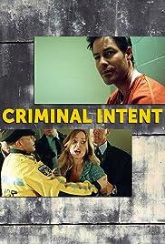 Criminal Intent Poster