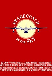 Stagecoach in the Sky Poster