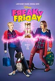 Cozi Zuehlsdorff and Heidi Blickenstaff in Freaky Friday (2018)