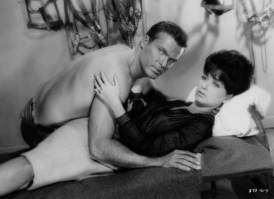 Ty Hardin and Suzanne Pleshette in Wall of Noise (1963)