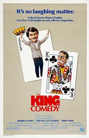 The King of Comedy Poster Image