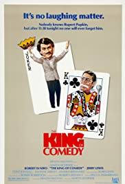The King of Comedy (1982) Poster - Movie Forum, Cast, Reviews