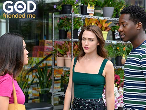 Violett Beane and Brandon Micheal Hall in All Those Yesterdays (2019)