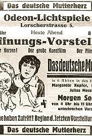 Das deutsche Mutterherz Poster