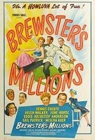 Dennis O'Keefe and Helen Walker in Brewster's Millions (1945)