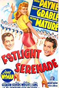 Victor Mature, Betty Grable, and John Payne in Footlight Serenade (1942)