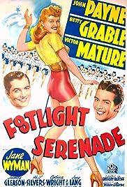 Footlight Serenade Poster