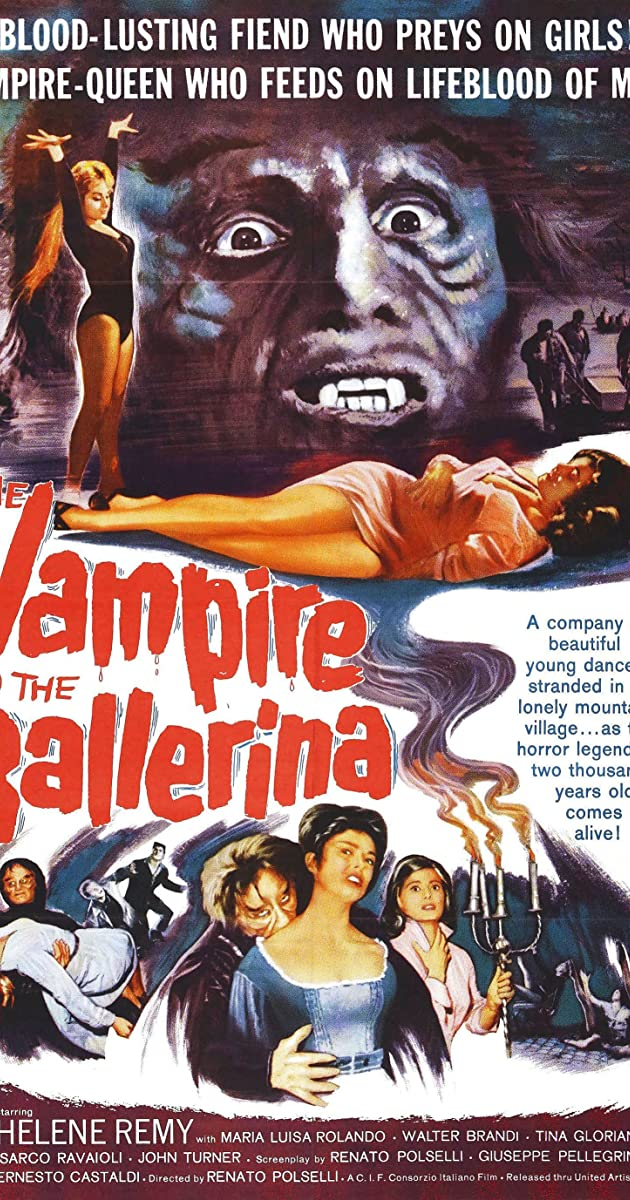 Subtitle of The Vampire and the Ballerina