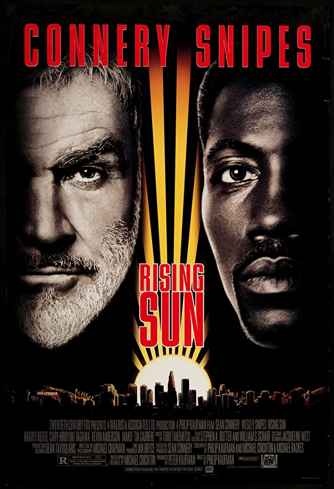 Sean Connery and Wesley Snipes in Rising Sun (1993)