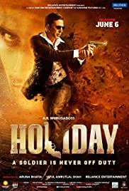 Holiday: A Soldier is Never Off Duty Poster