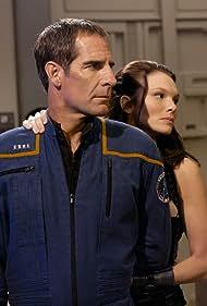 Scott Bakula and Abby Brammell in Enterprise (2001)
