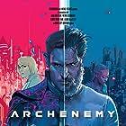 Joe Manganiello, Zolee Griggs, and Skylan Brooks in Archenemy (2020)