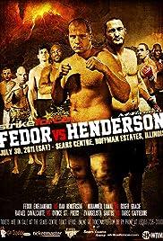 Strikeforce M-1 Global: Fedor vs. Henderson Poster