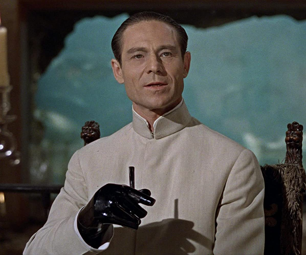 Joseph Wiseman in Dr No 1962