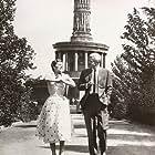 Lilli Palmer and Peter van Eyck in Der gläserne Turm (1957)