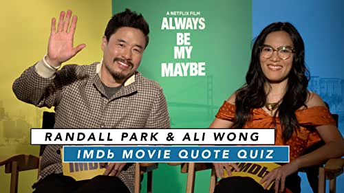 Ali Wong and Randall Park Play Romantic Movie Quote Game