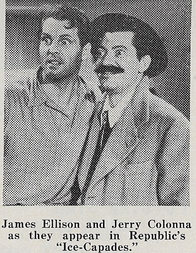 Jerry Colonna and James Ellison in Ice-Capades (1941)