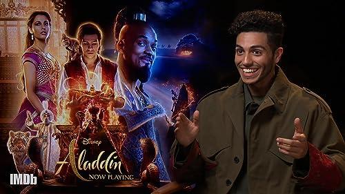 Mena Massoud of 'Aladdin' Plays Disney Movie Quote Game