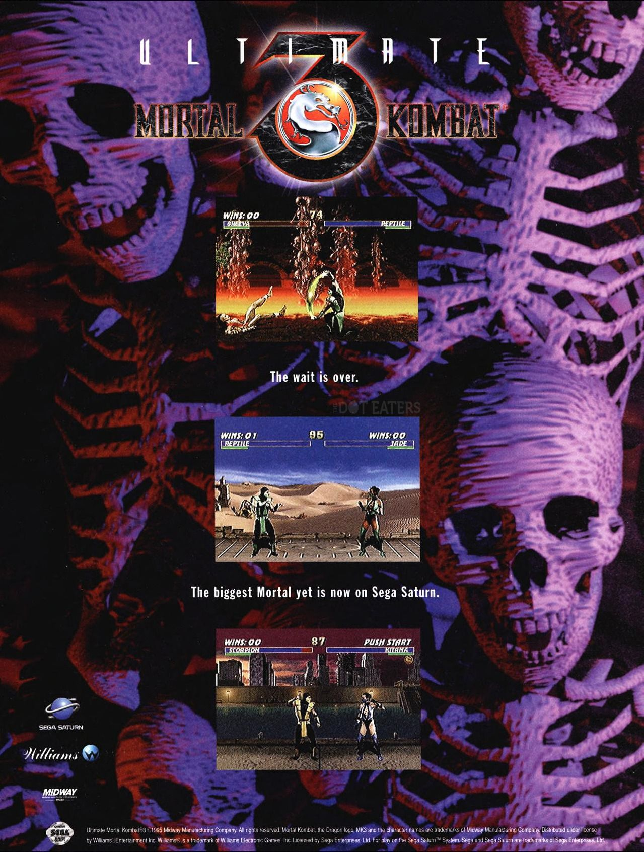 Ultimate Mortal Kombat 3 (Video Game 1995) - IMDb