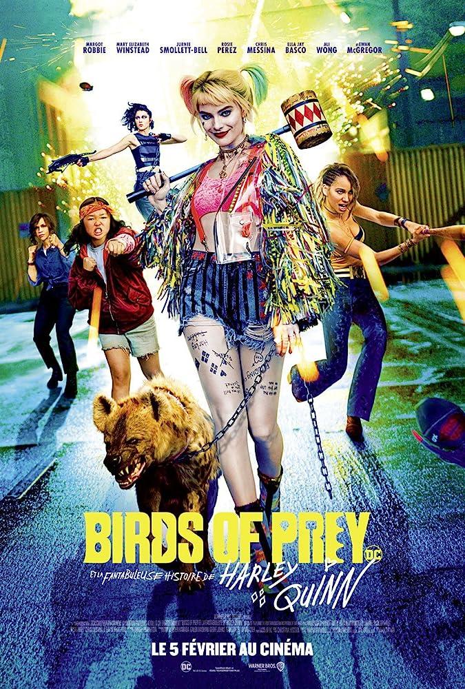 Rosie Perez, Jurnee Smollett-Bell, Mary Elizabeth Winstead, Margot Robbie, and Ella Jay Basco in Birds of Prey: And the Fantabulous Emancipation of One Harley Quinn (2020)