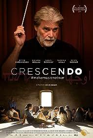 Bibiana Beglau, Peter Simonischek, Sabrina Amali, Mehdi Meskar, and Daniel Donskoy in Crescendo (2019)