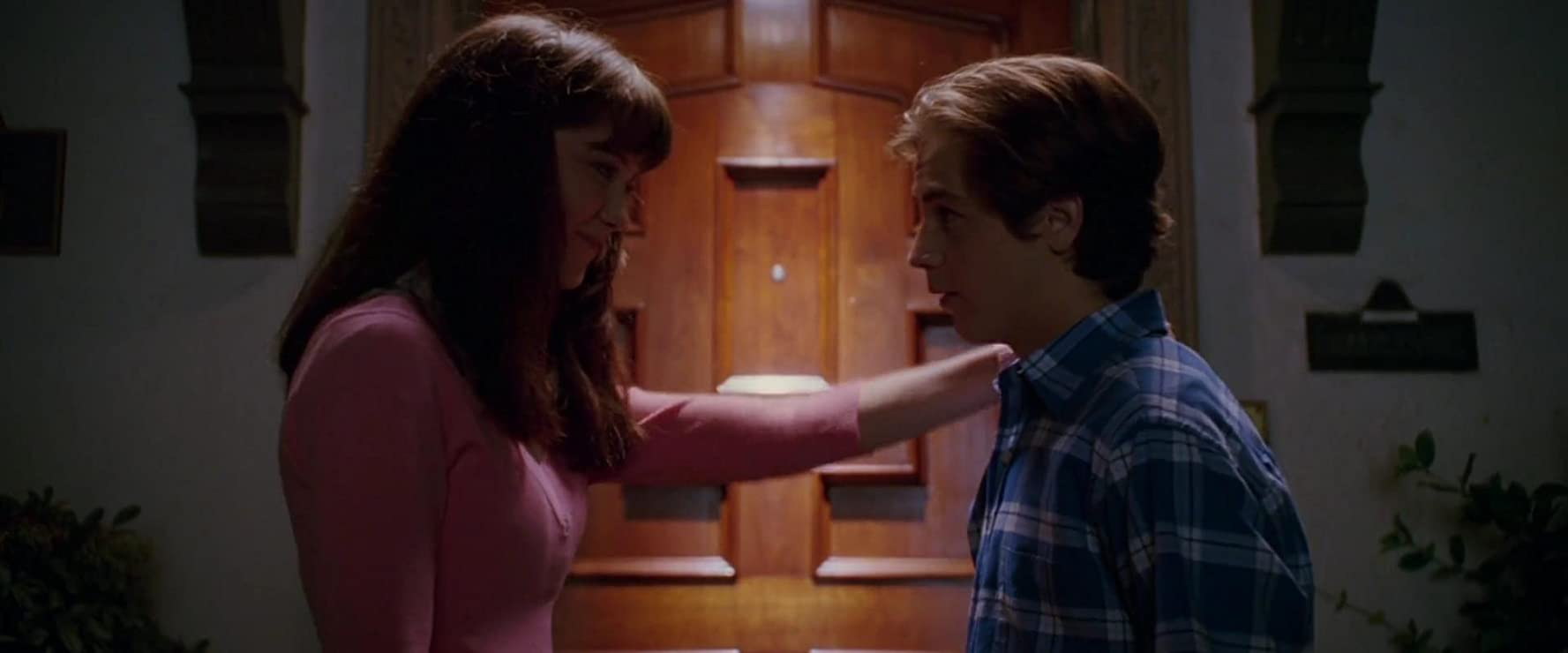 Michael Angarano and Mary Elizabeth Winstead in Sky High (2005)