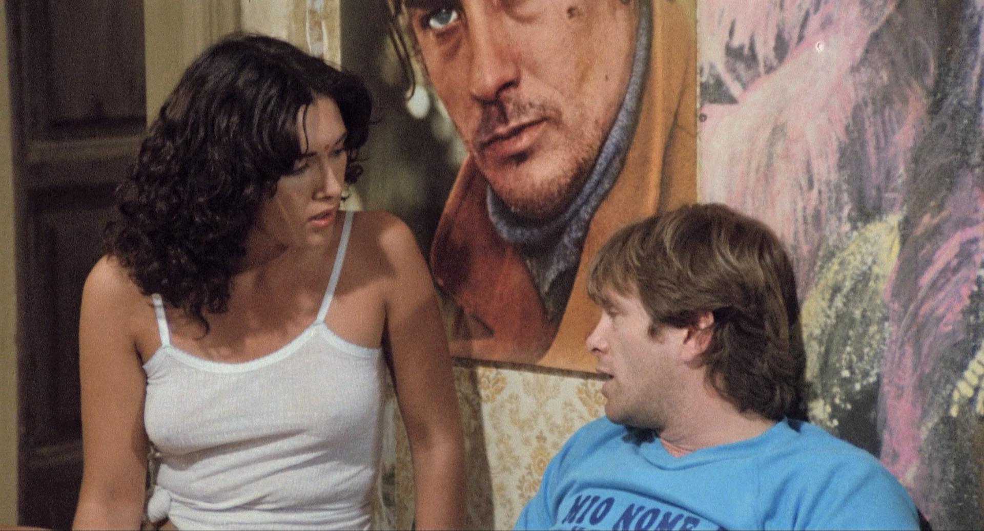 Lilli Carati and Ray Lovelock in Avere vent'anni (1978)